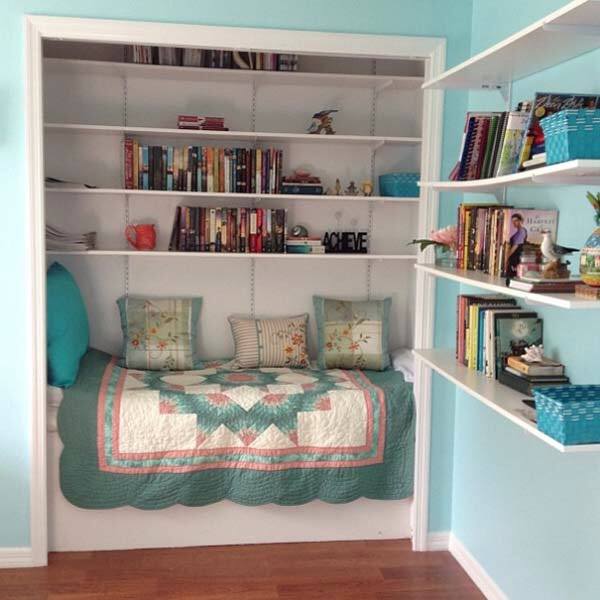 Be clever with The space you have available