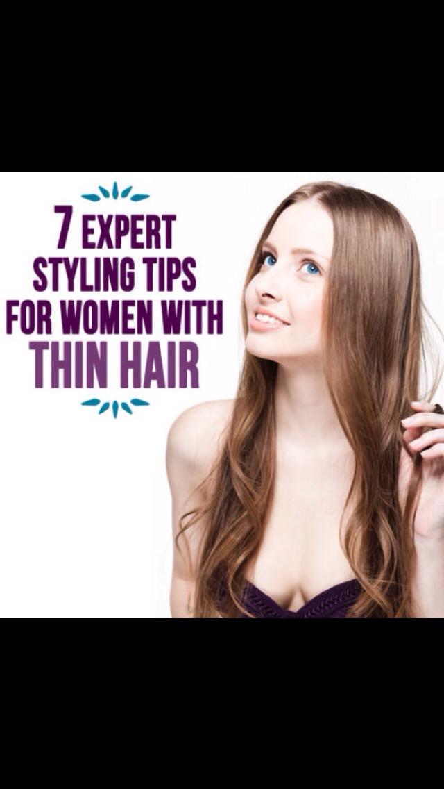 thin hair styling tips musely 6083
