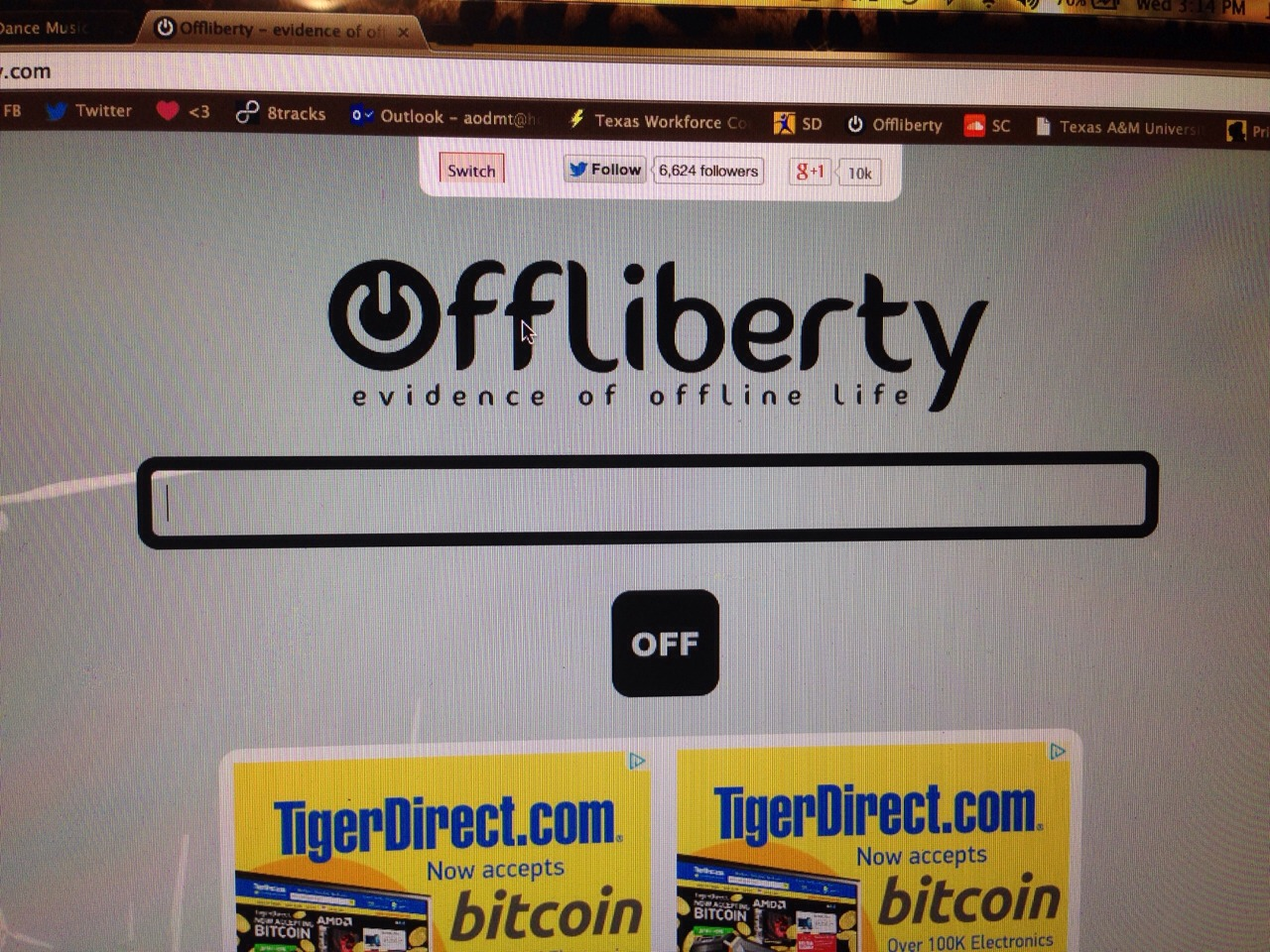 """Use offliberty.com   Copy and paste the video URL and press """"off"""" it will make your video into an MP3! For FREE"""