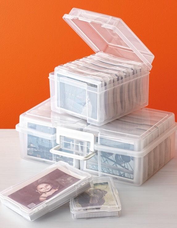 http://www.containerstore.com/s/6-case-4-x-6-photo-storage-box/d?productId=10020697&q=Photo%20boxes
