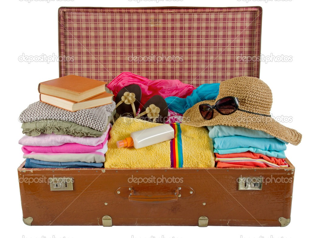 Don't let packing too much stress you out anymore!! By packing clothes in ziploc bags you have more room for other things!
