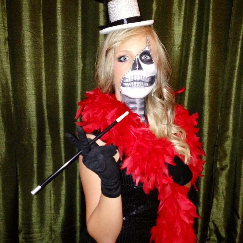 #HalloweenTip Halloween makeup that I did on myself 🎃