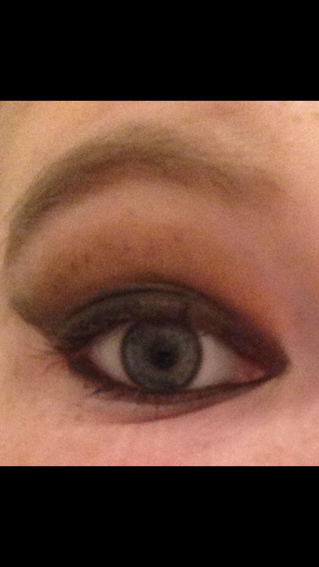 This is a smoky eye I did awhile back, and not winged eyeliner, but the trick for perfect winged eyeliner is to start it from your bottom corner lash line instead of your top!