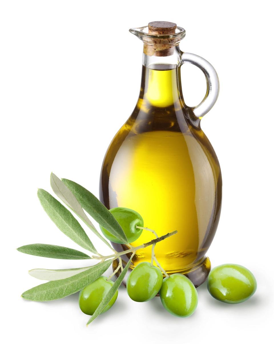 Rub olive oil into scalp