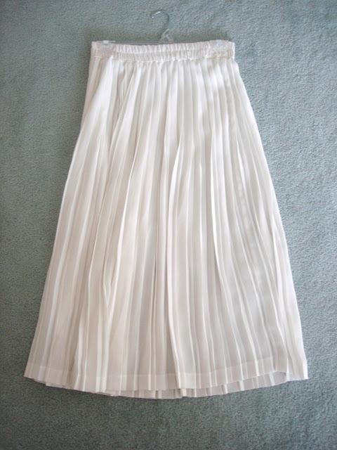 2. Pleated dress