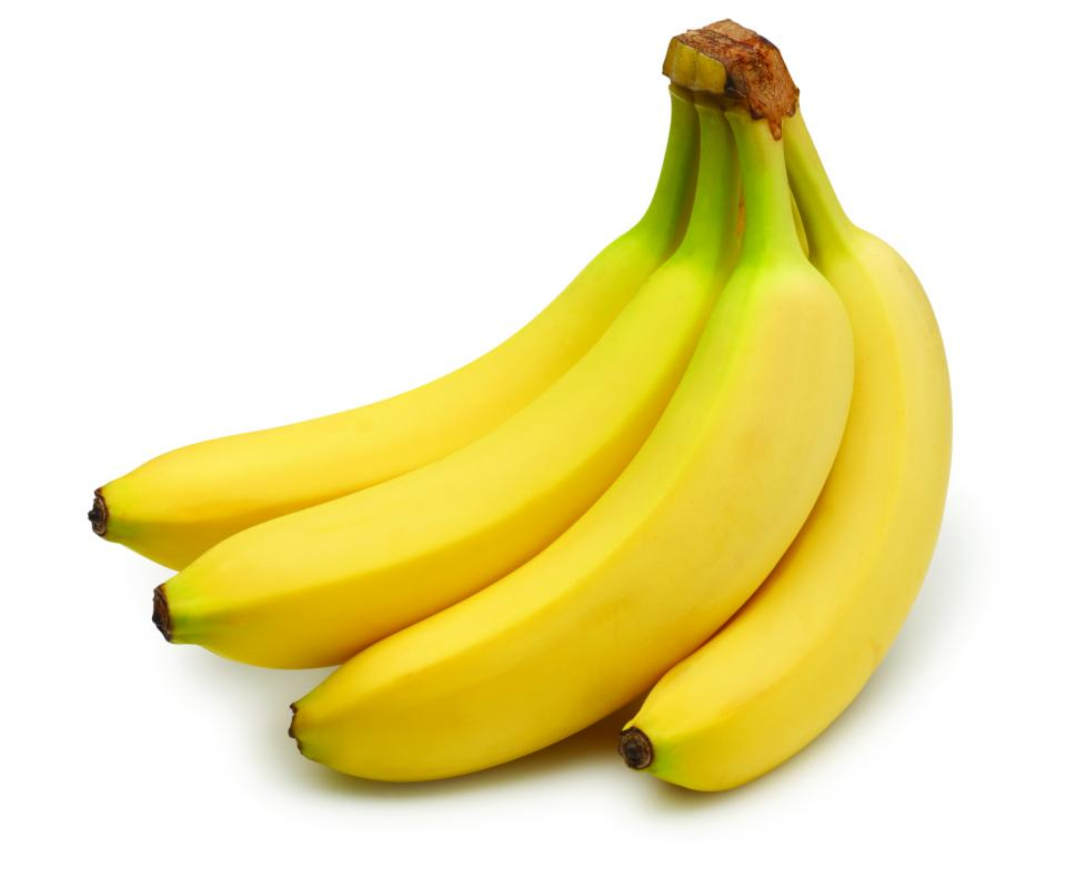 Bananas are a quick fix for water retention due to their potassium content. These are convenient to tote around, make a good snack in between meals and give you fibre