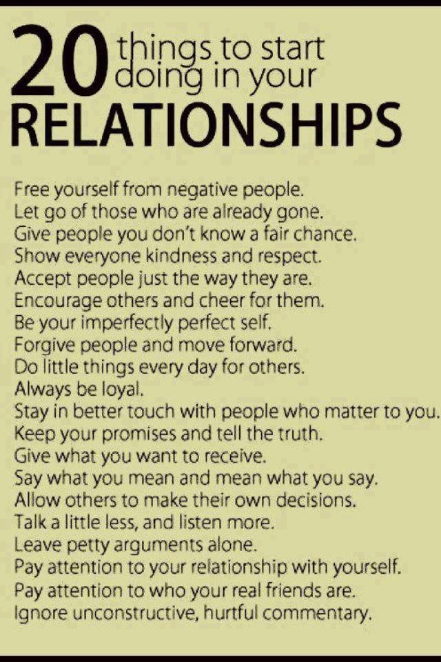 Tips To A Long Lasting Relationship
