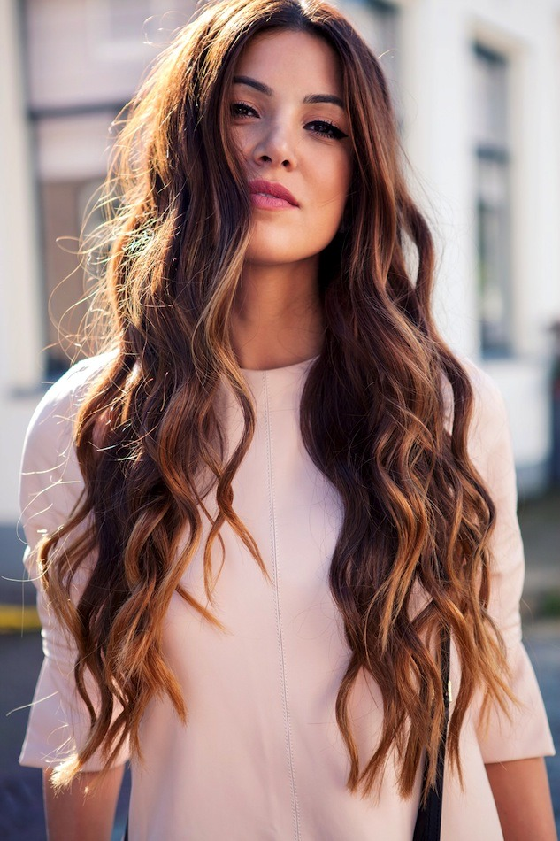 Tip your hair back and massage your scalp for about 5 to 4 mins this causes the blood to flow around your scalp and maybe add a bit of volume do this about 2 to 3 weeks and you will notice your hair gets longer!