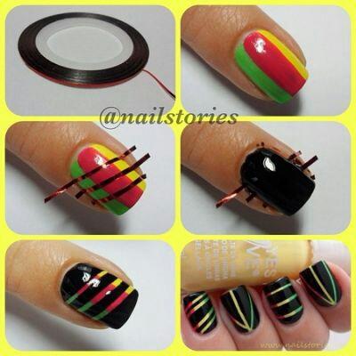 using nail tape