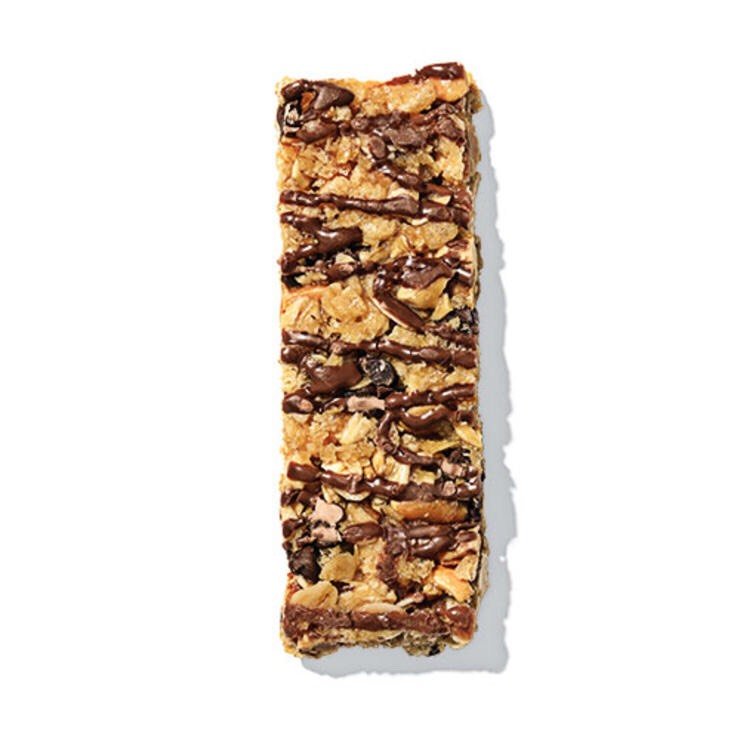 CURVES GRANOLA BAR Stash chocolate-peanut or strawberries-and-cream bars in your glove box to help you resist the lure of the drive-thru when you're on the road.