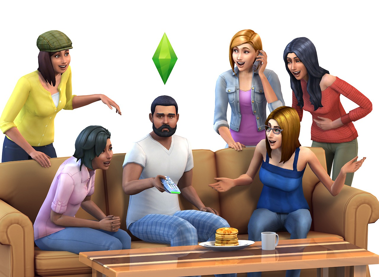 For many, the Sims 2 was complicated enough. But for those wanting the newest Sims game, this one is for you. The Sims 4 gives you the ultimate experience of living your dream life. With everything more realistic, you can make a mirror reflection... more or less.