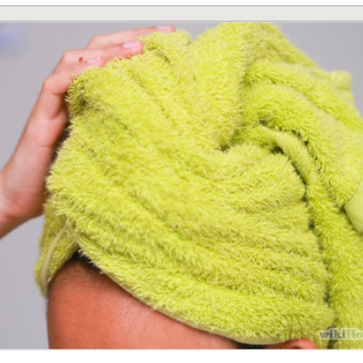 STEP 9.  Towel dry and style as usual. Now because this is a natural mixture you can repeat this as much as you want without damaging your hair !