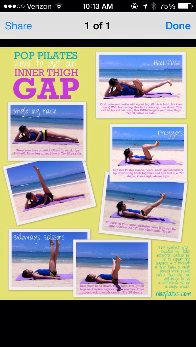 Here are some other quick examples, I like the single leg raise, you can really feel it working your thighs.