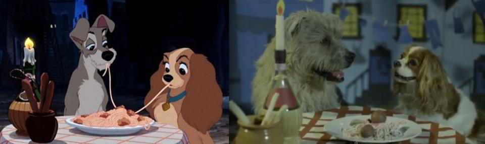 """""""The Lady and the Tramp"""" - Tramp and Lady"""