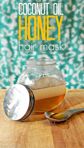 Ingredients: 2 tablespoon of coconut oil, 2 tablespoons honey.  Mix both then place in a pot, boil it until they both melt. Run this substance all over your hair, leave for one hour, then shampoo it out in your shower. You will be left with soft, shiny, healthy hair! 💁