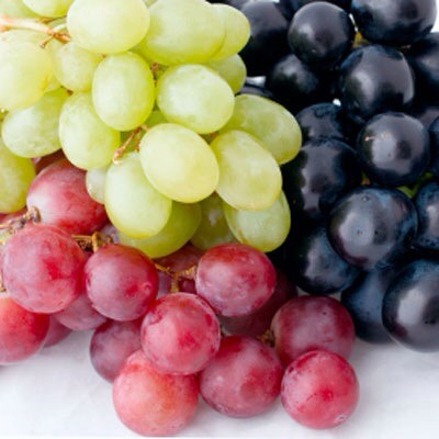 Grapes  Grapes have many health benefits, so load up for an easy, sweet snack!
