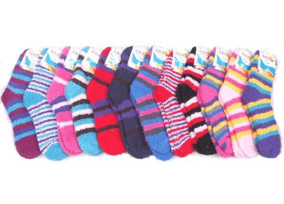 This goes to the guys too, but fuzzy socks. Everyone wants fuzzy socks.