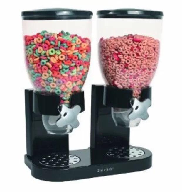 $36.99 Zevro Dual Dry Food Dispenser