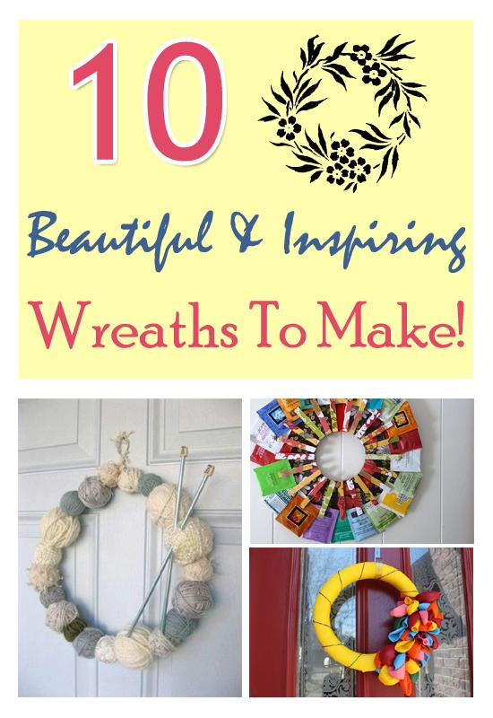 Make wreaths for any occasion, season, and holiday. Read more: http://bit.ly/V0lNcq