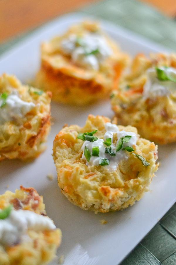 Bacon And Cheddar Potato Puffs by Meredith F - Musely