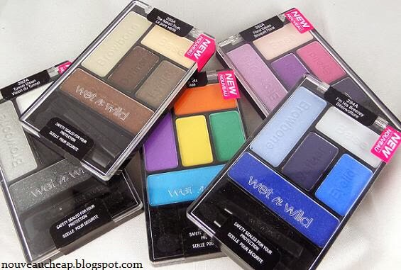 Wet n Wild Eyeshadow  If you're ever at Target, stop and pick up a few of these. They have amazing pigmentation and really nice colors.