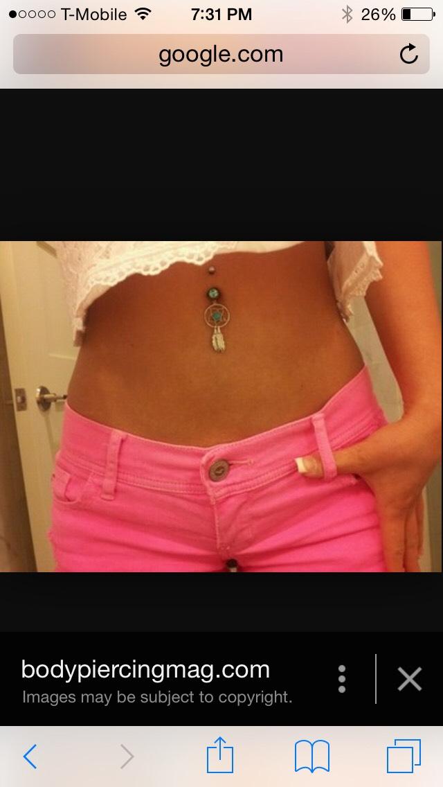 Belly Button pirecing