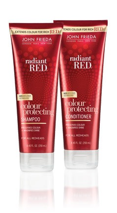 DO NOT I REPEAT DO NOT USE THIS!!!! I tried the John Frieda for red hair shampoo and conditioner thinking it would protect my red hair better...I thought wrong. It actually made it fade 100x worse. The next morning my hair was brown again. Not even kidding.