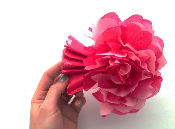 Diy Paper Flower Bouquet By Shantel Yung Musely
