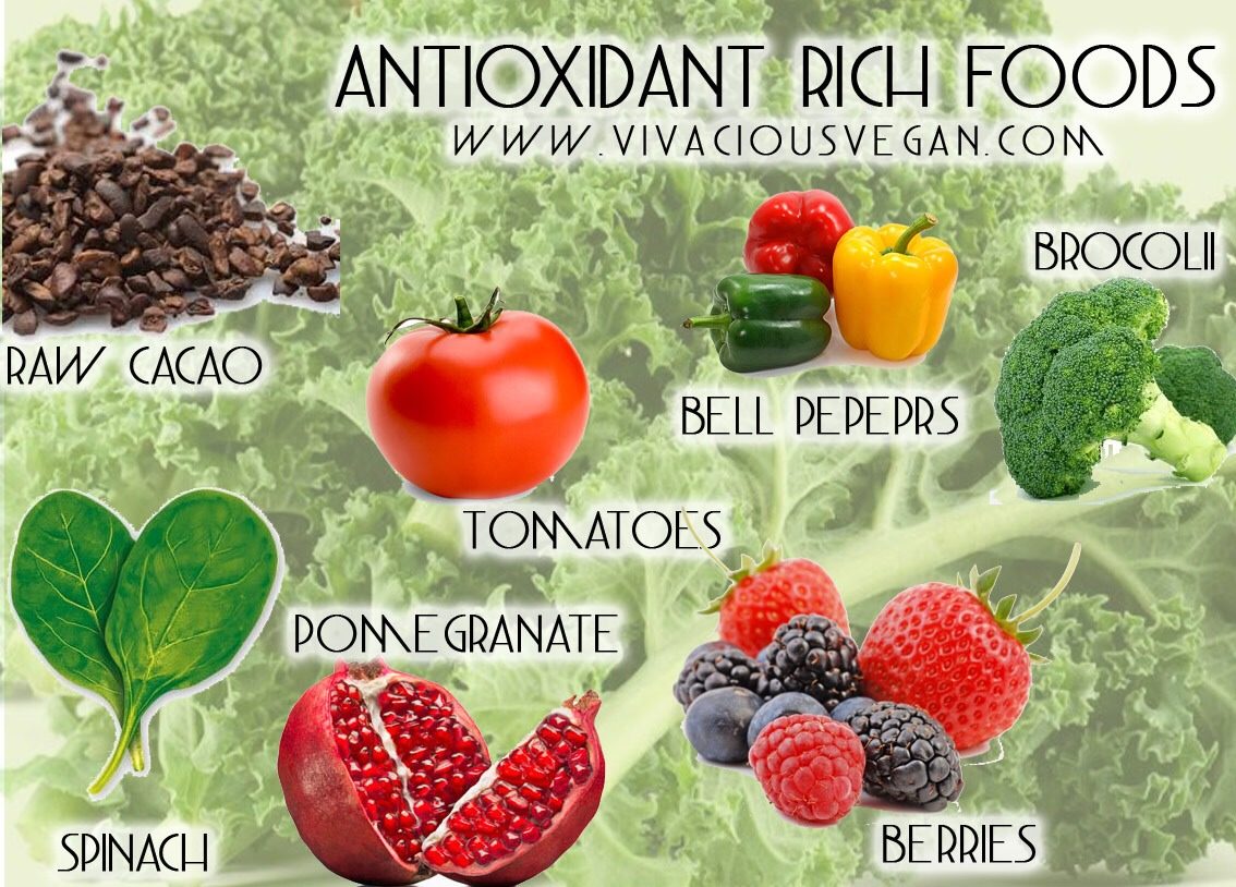 6) EAT YOUR ANTIOXIDANTS I don't think this needs an explanation