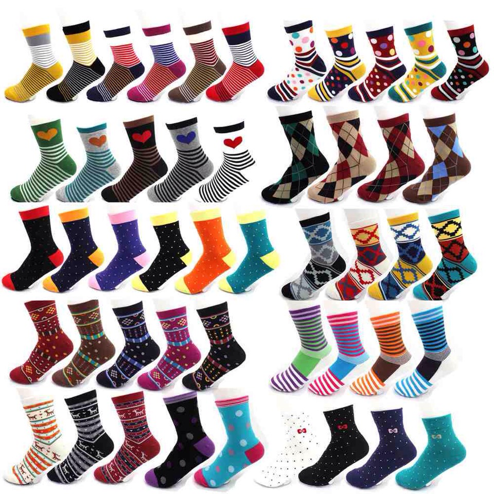 SOCKS! SOCKS! SOCKS! Guys live on showing off nice socks, I'll never understand