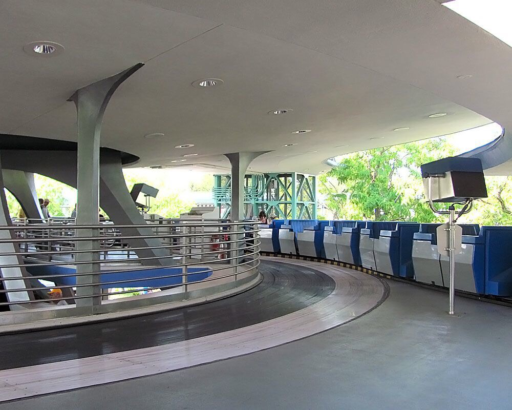 Tomorrowland Transit Authority PeopleMover Embark on a 10-minute tour of Tomorrowland aboard this emission-free mass transit system of the future.  Height: Any FP+: No