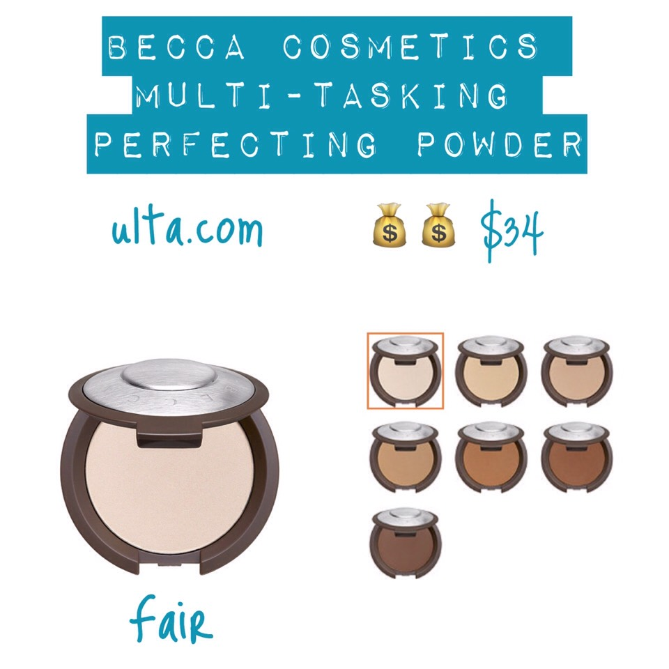 SHADES|Fair, Lifht, Beige,Tan, Warm Honey, Dark Golden +Deep Bronze.  BENEFITS | (+)A one-step powder & foundation (+)A do-it-all formula: sets concealer, highlights & contours (+)Delivers medium to fullcoverage (+)Blends seamlessly over the skin & feels as natural as it looks (+)Leaves skin with a silky, matte finish (+)Acts as a finishing powder (+)Perfect for on-the-go touch-ups to refresh your looks (+)Antioxidant vitamins A, B, C & E for anti-aging benefits & allows skin to breath