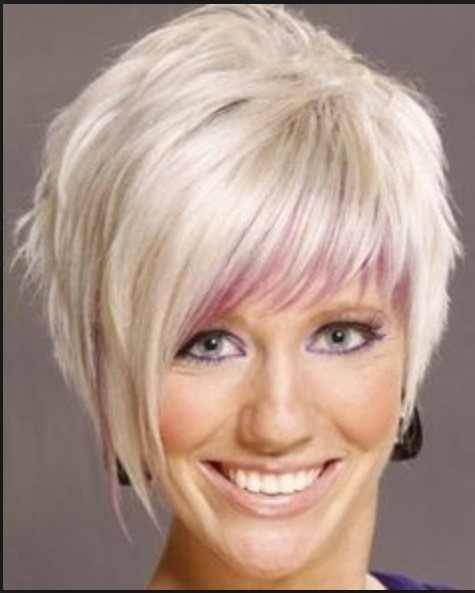 Musely this is called an asymmetrical cut it is longer on one side than the other you winobraniefo Images