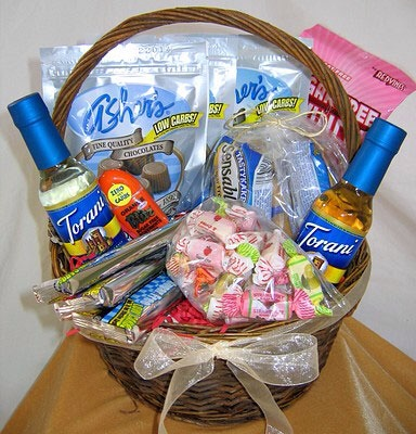 Gift basket of their favorite things! Candy, make up, liquor, anything. Feels nice to know that people know what we like