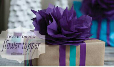 DIY Paper Flower Topper