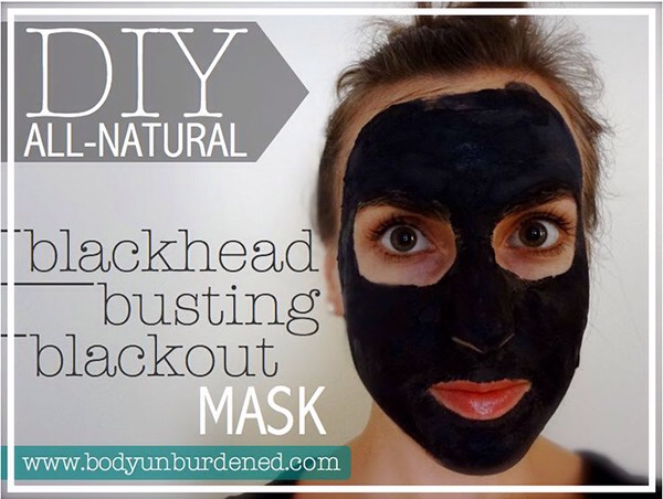 10. Make your own activated charcoal mask. Activated charcoal is great for getting rid of blackheads.
