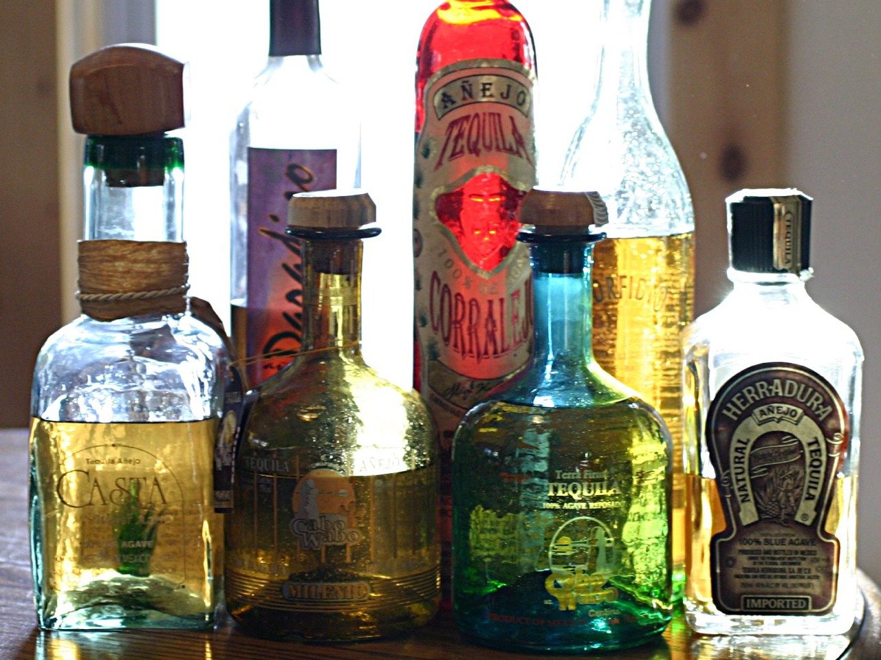 1 1/2  shot of tequila ( your preference on gold or silver) .