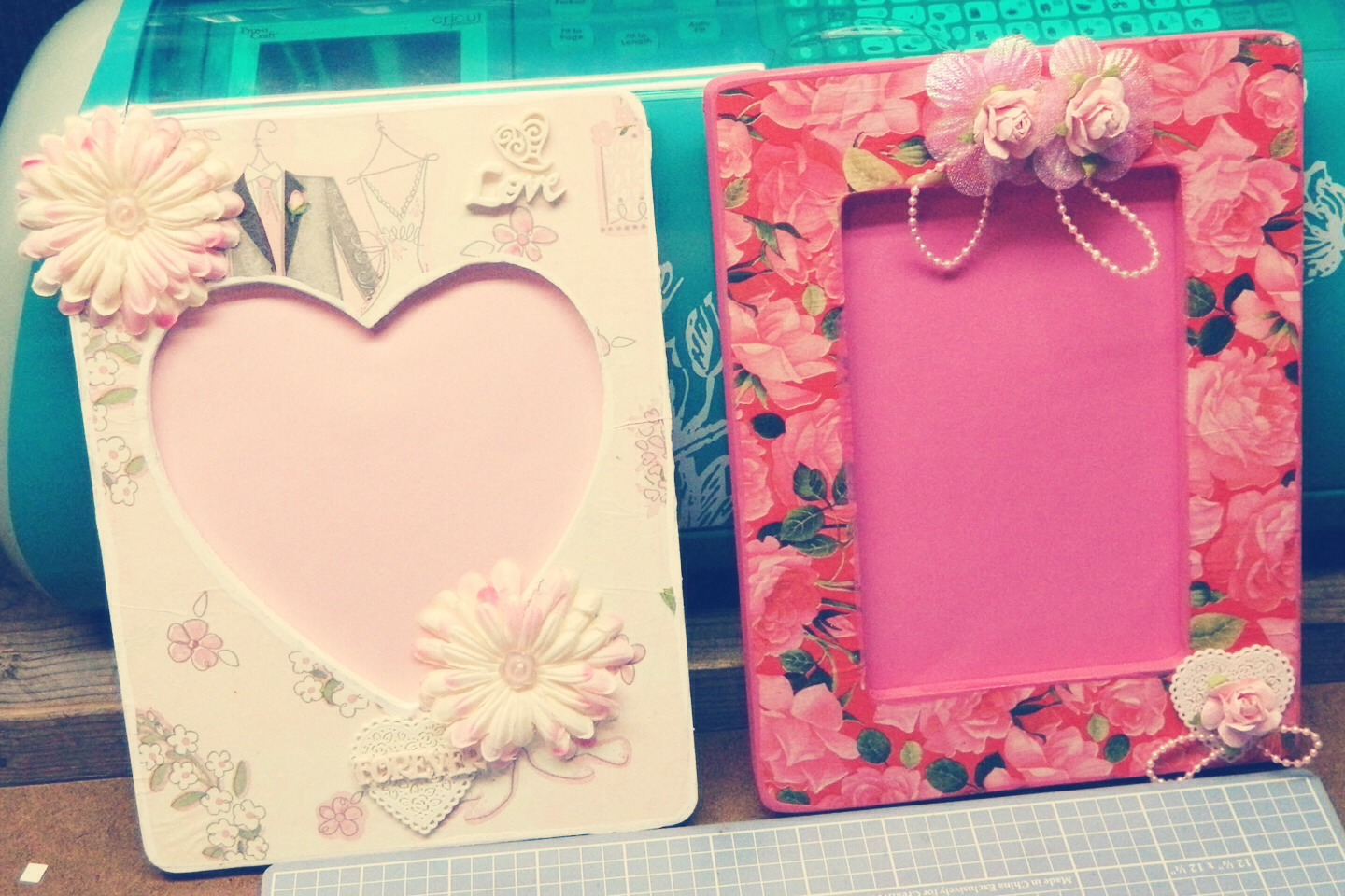 Musely a picture frame is always cute and you can even make one just go to jeuxipadfo Choice Image