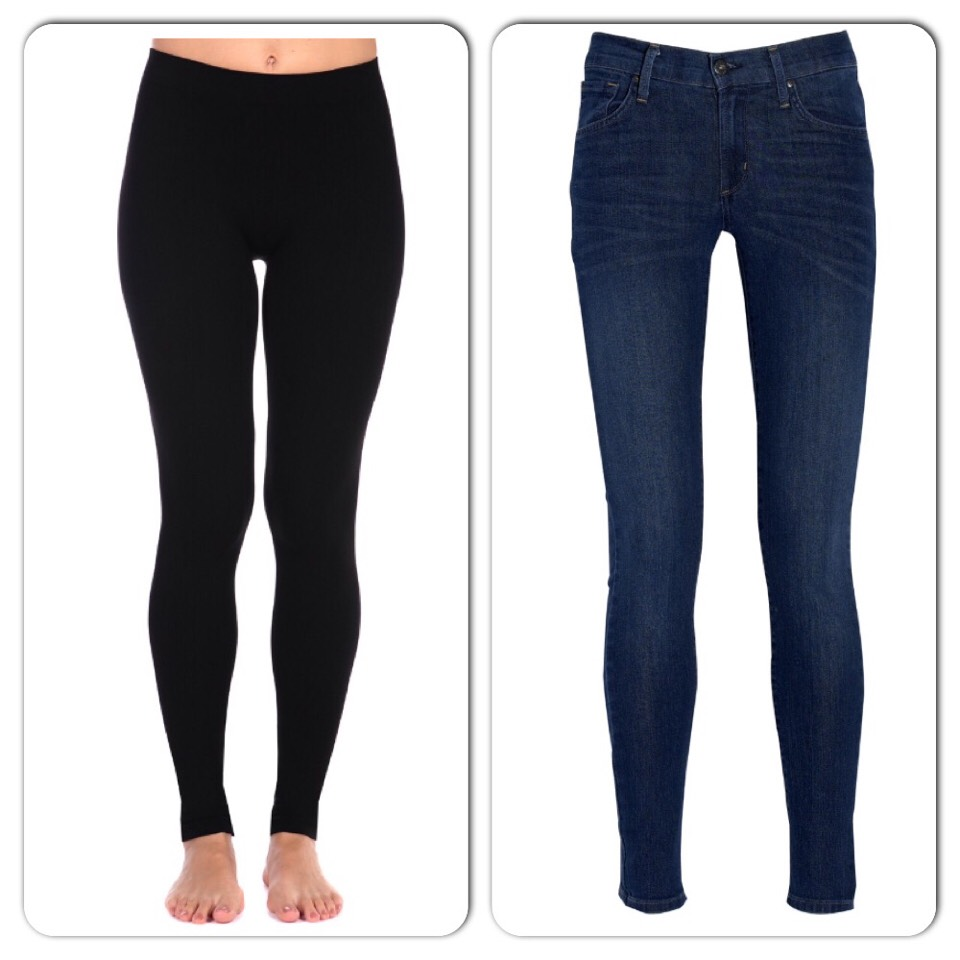 Next you need a pair of jeans or leggings!
