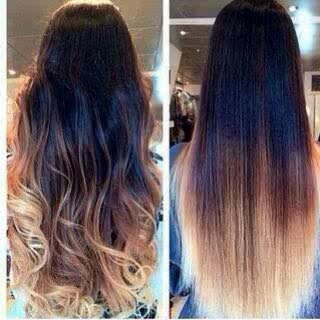 Ombre r still in fashion...soo guys what r y waiting for?💇💆