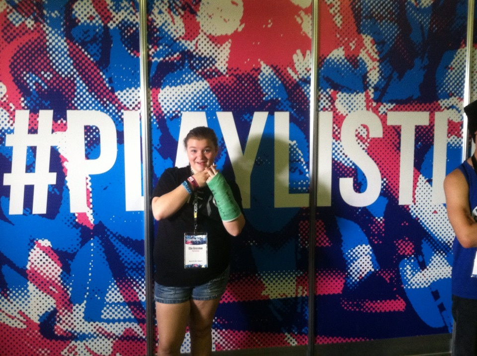 At Playlist Live, EVERYONE is crazy!! So just be yourself and go as crazy as you want!