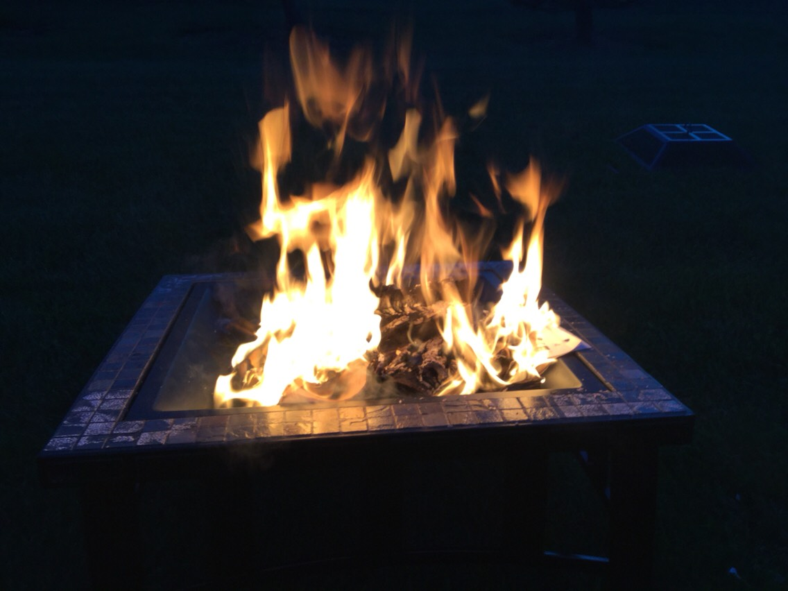 Have a fire and make s'mores