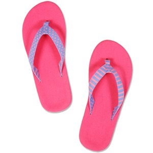 Flip Flops- Don't bring Nike shoes because you're going to ruin them.