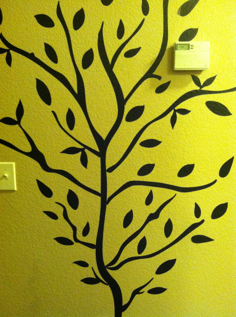 Just another wall decal tree shown