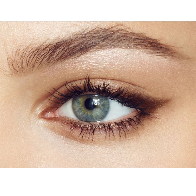Eyebrows should start light, get darker in the middle, and light at the end again. They should not be the same colour the entire way through.