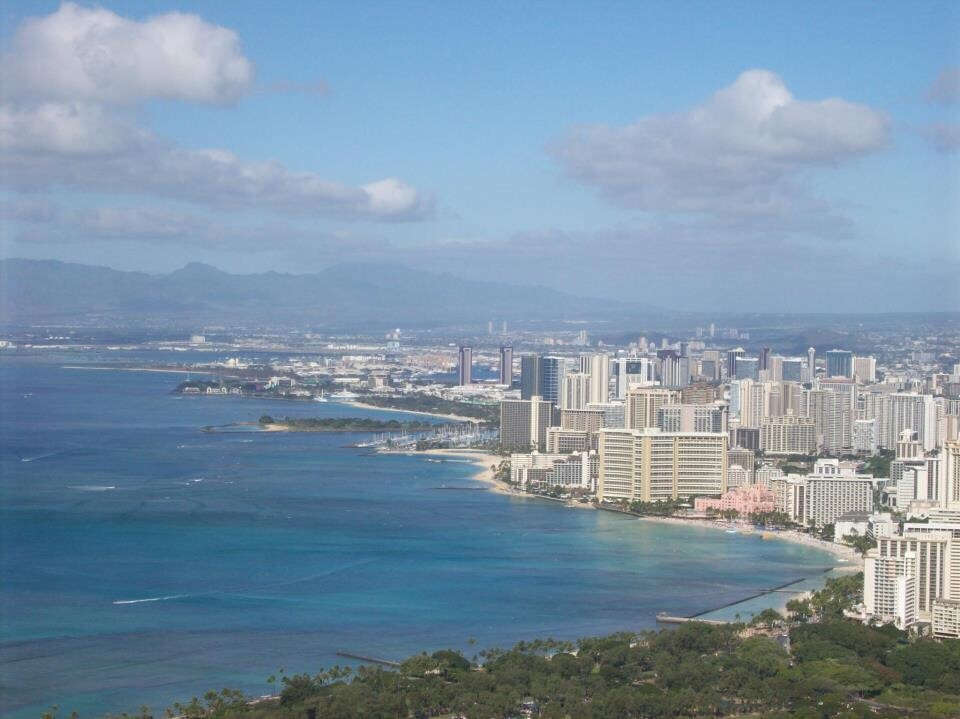 Hike diamond head and take in this view.  Ahhh!