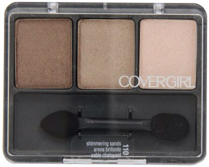 All of the covergirl eyeshadows are beautiful and nicely pigmented.