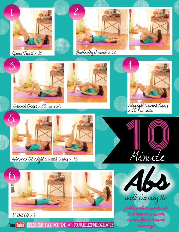 ''These moves will help you to tone up your core and strength it''-Cassey Ho.