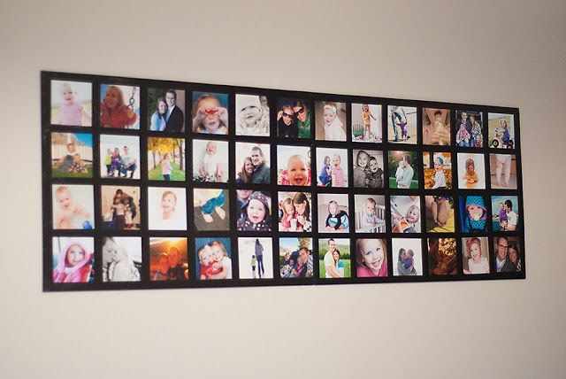 I let it dry overnight.. and hung it up the next morning. Here's the view from the living room….