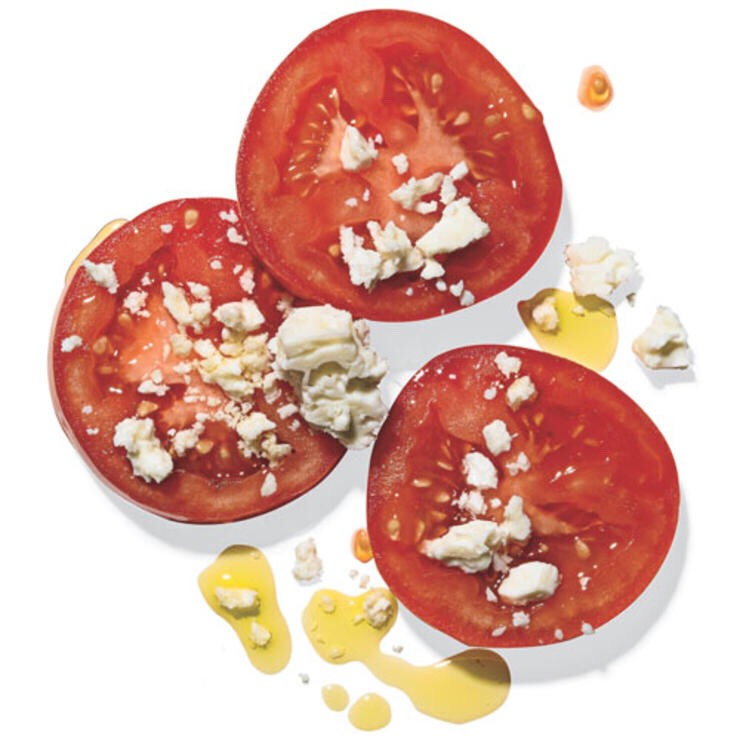Top 28 Best Healthy Snacks nibble guilt-free with these healthy snacks that clock in at 100 calories or less. SLICED TOMATO WITH A SPRINKLE OF FETA AND OLIVE OIL Lunch left something to be desired? This savory dish will make your taste buds happy.